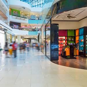 Geschäfte, Shops, Einkaufszentrum
