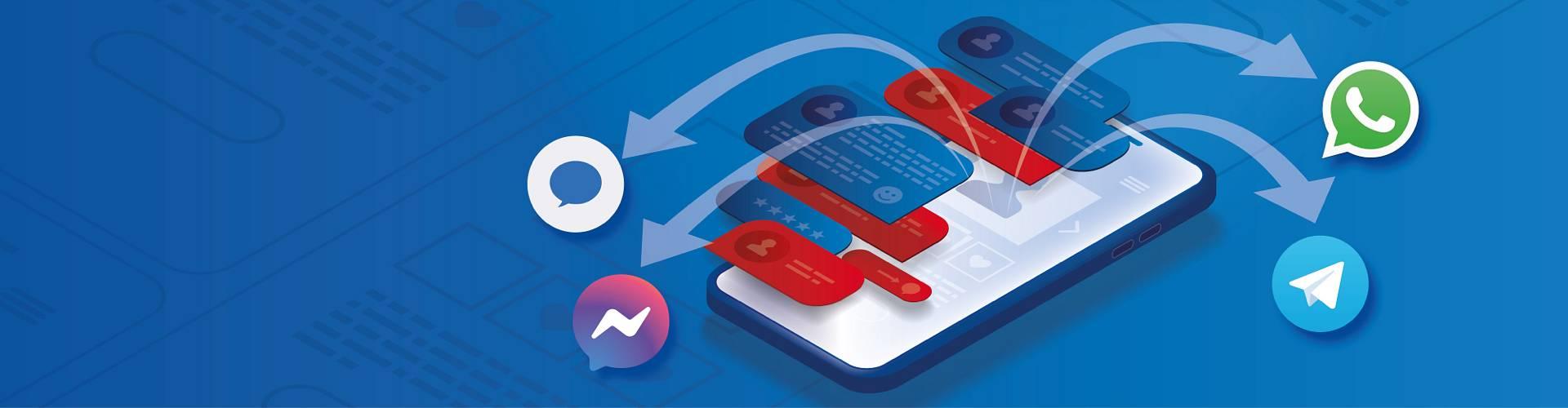 Wir beantworten Ihre Fragen über den Messenger Ihrer Wahl