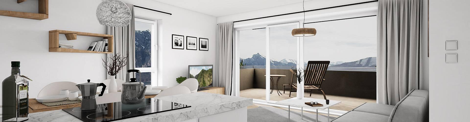 Neubauwohnungen in Altmünster
