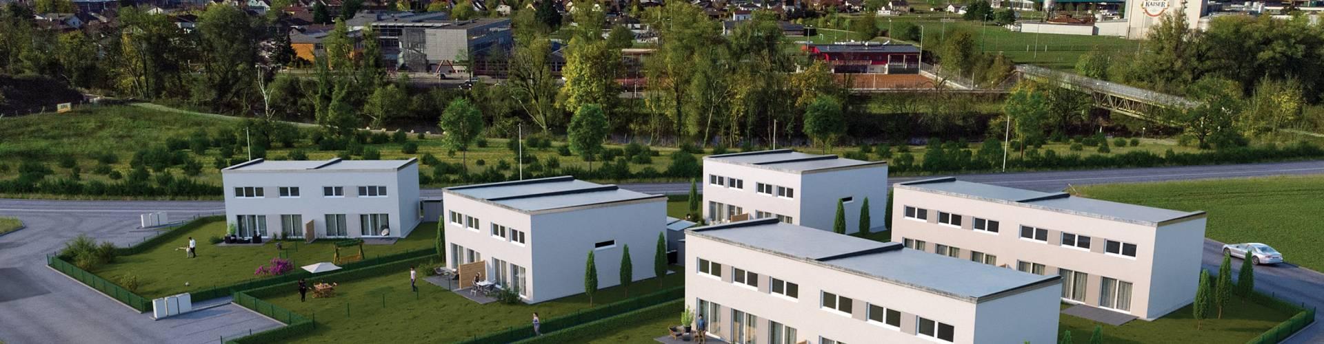 Doppelhaushälften am Brunnfeld