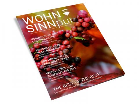 WOHN.SINN.pur - Ausgabe Herbst 2020