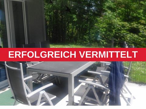 ERFOLGREICH VERMITTELT - Erdgeschoss + Terrassen + Garten