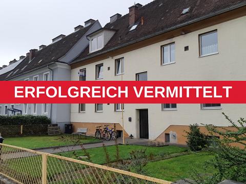 ERFOLGREICH VERMITTELT - Eigengarten und 4 Zimmer