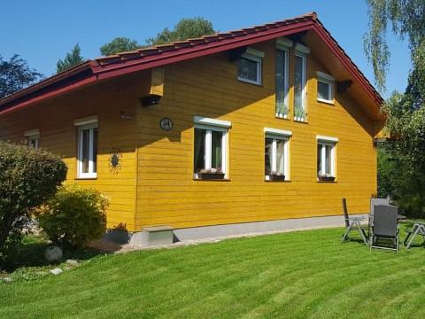 Holzhaus zum Selbstabbau mit kompletter Inneneinrichtung!