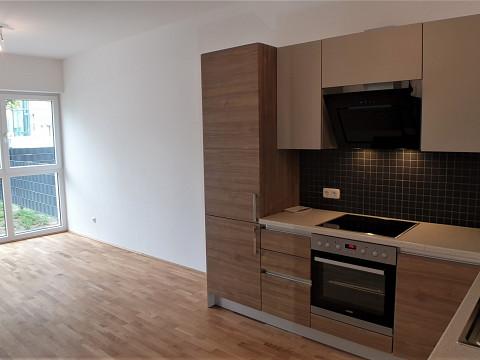 Neue Gartenwohnung mit Küche zu mieten - Erstbezug!