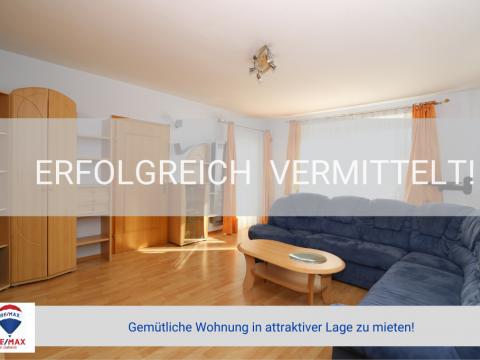 Erfolgreich vermittelt! - Gemütliche Wohnung in attraktiver Lage zu mieten!
