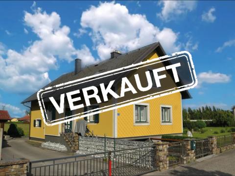 Haus mit zweiter Parzelle in Hubertendorf