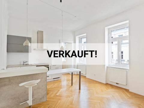 Top sanierte Altbauwohnung am Allerheiligenpark | 51 m2 | 2 Zimmer