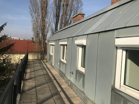 traumhafte Dachterrassen-Wohnung im 13.
