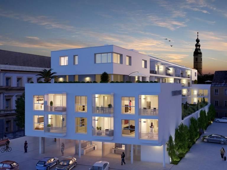 Symbolbild  West Nacht - Wohnung in Klagenfurt zu kaufen