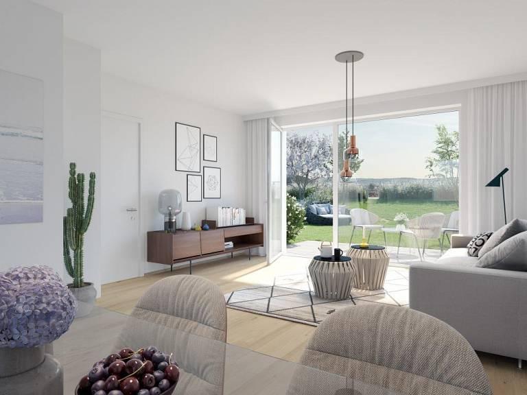 Visualisierung EG_Top - Wohnung in Mistelbach zu kaufen