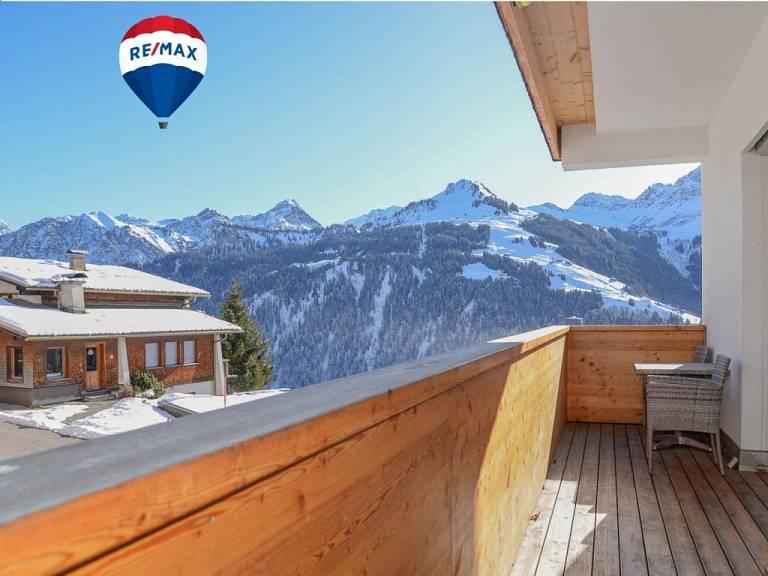 Balkon Aussicht - Wohnung in Fontanella zu kaufen