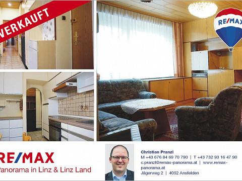 VERKAUFT!! 3-Zimmer-Wohnung mit Loggia zum Renovieren - DAVE im offenen Verfahren