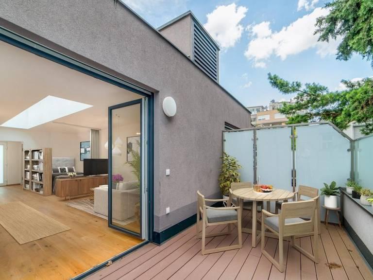 Möblierungsvorschlag Terrasse -