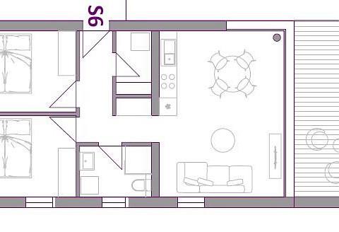 Wohnung in Jasenice