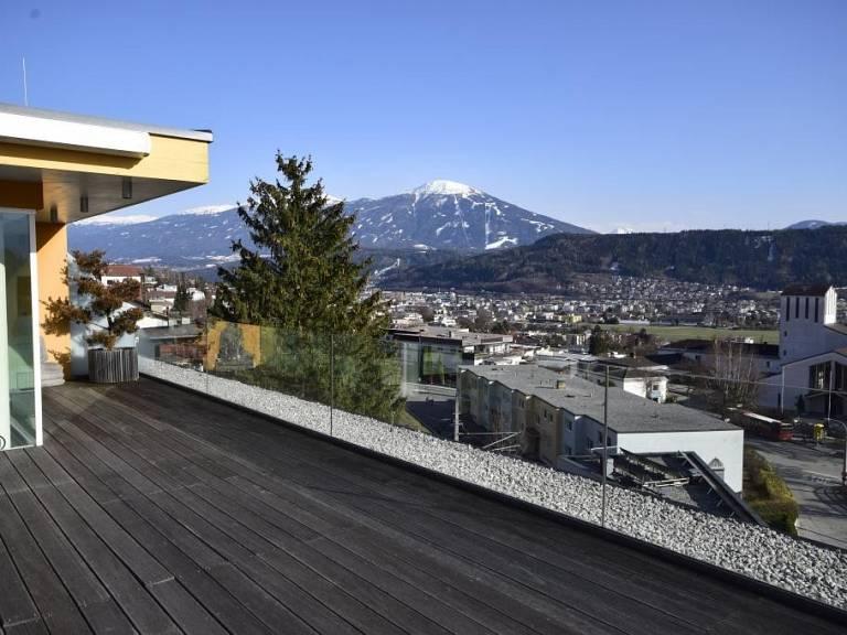 Dachterrasse mit Aussicht S/O -