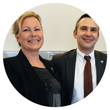 Mag. Bernhard Jakob, akad. IM & Karin Jakob, Franchise-Unternehmer-Ehepaar in Wien
