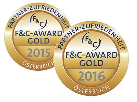 F&C Award in Gold